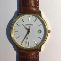 Tourneau Men's Quartz Watch 18K Solid Yellow Gold
