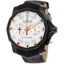 Corum A895/02944 Admirals Cup Leap Second in Black Titanium -...