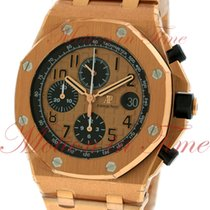Audemars Piguet Royal Oak Offshore Chronograph, Pink Gold Tone...