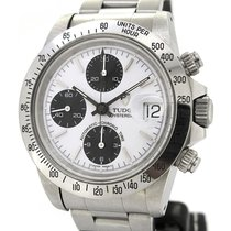 Tudor Oyster Date Chronograph 79180, Rare Rolex crown and case...