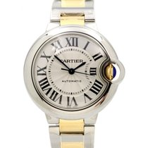 Cartier W2BB0002 Ballon Bleu DE 33mm Yellow Gold Stainless...