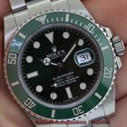 Rolex SUBMARINER 116610LV HULK CERAMIC GREEN DIAL/BEZEL