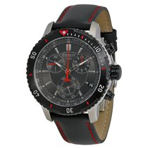 Tissot Men's T0674172605100 PRS 200 Black Chronograph Watch