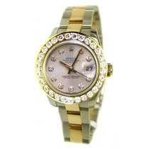 Rolex Lady's Steel & 18K Yellow Gold New Heavy Style...