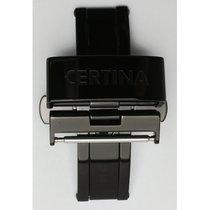 Certina Doppelfaltschließe schwarz 20mm C640016428