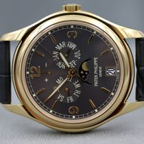 Patek Philippe Complications Grey Dial 18kt Yellow Gold