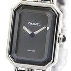 Chanel Premiere Size Xl Steel Quartz Ladies Watch H0451...