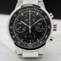 IWC 3707-08 GST Chronograph Black Dial SS / SS (24796)