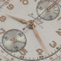 Breitling Vintage chronograph Cadette 18k yellow gold