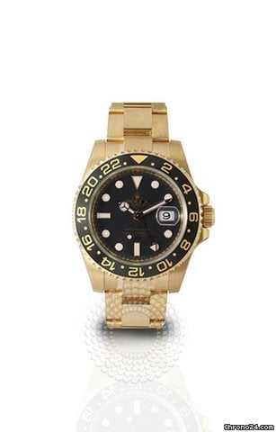 Rolex GMT-Master II 18k Yellow Gold 116718LN