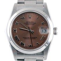 Rolex midsize 68240 Datejust Salmon Roman Dial