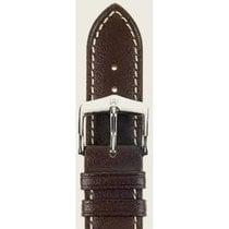 Hirsch Uhrenarmband Heavy Calf braun L 01475010-2-22 22mm