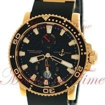Ulysse Nardin Maxi Marine Diver 42.7mm, Black Dial - Rose Gold...