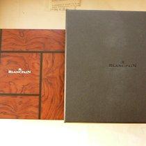 Blancpain precious wood box & outer box, for BP Villeret...