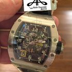 Richard Mille RM30 white Gold