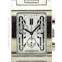 Bulgari stainless steel Rettangolog Chronograph