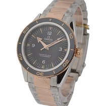 Omega Seamaster 300 Master Co axial Automatic in 2 Tone