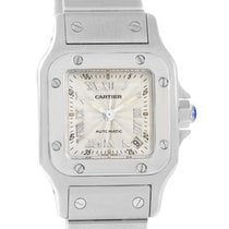 Cartier Santos Galbee Ladies Stainless Steel Automatic Watch...