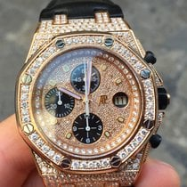 Audemars Piguet Royal Oak Offshore Off Shore oro gold Diamonds...