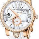 Ulysse Nardin EXECUTIVE DUAL TIME LADIES AUTOMATIC WATCH 18k...