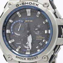 Casio Mint Condition Casio G-shock Mt-g Gps Radio Solar Watch...