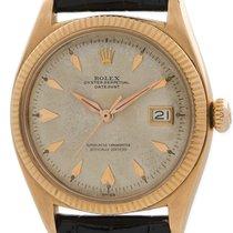 Rolex 18k Rose Gold Datejust ref 6605 circa 1958