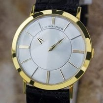 Longines Swiss Made Mystery Dial 33mm Men's C1950s 14k...