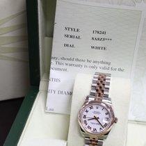 Rolex Midsize 31MM 178241 Datejust 18K Rose Gold &...