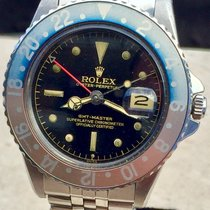 Rolex GMT-Master 1675 Gilt Chapter Ring Exclamation Point PCG...