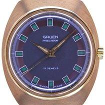 Gruen Mans Wristwatch Precision Day - Night Jump - Hour