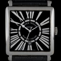 Franck Muller 18k W/G Master Square Gents Wristwatch B&P...
