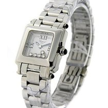 Chopard Happy Sport Square in Steel Small Size