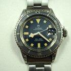 Tudor Submariner 941170 snow flake blue dial dates 1976