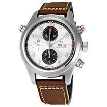IWC Men's IW371806 Spitfire Double Chronograph Watch