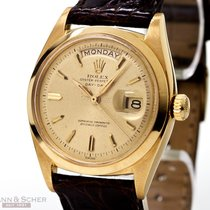 Rolex Vintage Rolex Day-Date Ref-6612 in 18k Yellow Gold Flat...