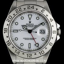 Rolex Stainless Steel O/P White Dial Explorer II Gents B&P...