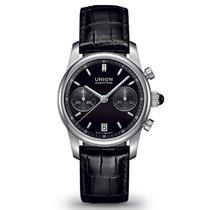 Union Glashütte Seris Chronograph mit Datum schwarz
