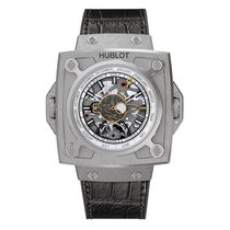 Hublot Masterpiece 35mm Hand Wind Titanium Mens Watch Ref...