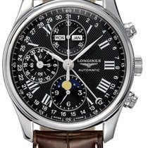 Longines Master Complications L2.673.4.51.3 Stainless Steel...