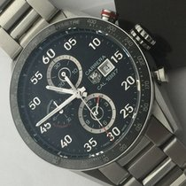 TAG Heuer Carrera 1887 Chronograph Automatic Ceramic Bezel Box...