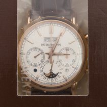 Patek Philippe New  Complications 18k Rose Gold White Manual...