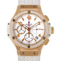 Hublot Big Bang Gold White 41mm Automatic Chronograph Watch...