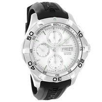 TAG Heuer Aquaracer Mens Automatic Chronograph Watch CAF2011.F...
