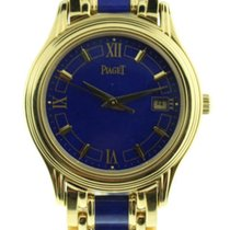 Piaget 23001 Polo in Yellow Gold - on Yellow Gold Lapis Lazuli...
