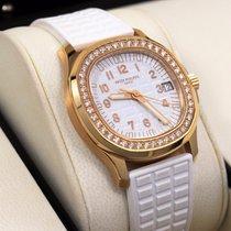 Patek Philippe Aquanaut Luce 5068r 18k Rose Gold Diamond Bezel...