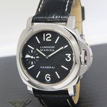 Panerai Luminor Marina PAM 111 Stainless Steel 44mm Mens...