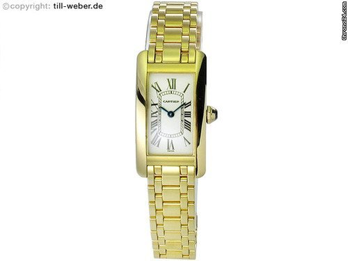 Cartier &amp;#34;Tank Americaine &amp;#34; [ON HOLD]