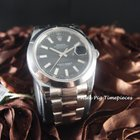 Rolex 116300 Datejust II Black Dial Smooth Bezel [N E W...