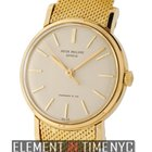 Patek Philippe Vintage Collection 18k Yellow Gold 34mm Tiffany...