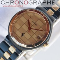 Cartier FERRARI quartz F1 en OR et Acier by Cartier 1990